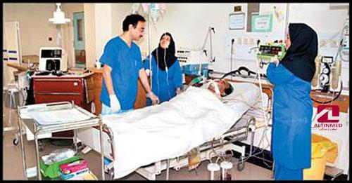 مراقبت بیمار در کما